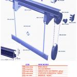 Sisteme profesionale din aluminiu pentru perdele si draperii